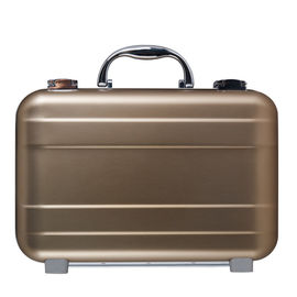 Rose Golden Aluminium Attache Case, Tas Aluminium Kecil Portabel