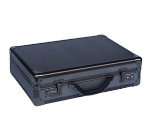 Multi-Purpose Black Aluminium Briefcase, Tas Atase Aluminium Percontohan