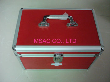 Doctor Metal First Aid Box Multi-Purpose, Aluminium Ringan Kasus Medis